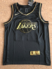 Kobe Bryant Black 'Golden Edition'  LA Lakers Jersey - supports Kobe's charities