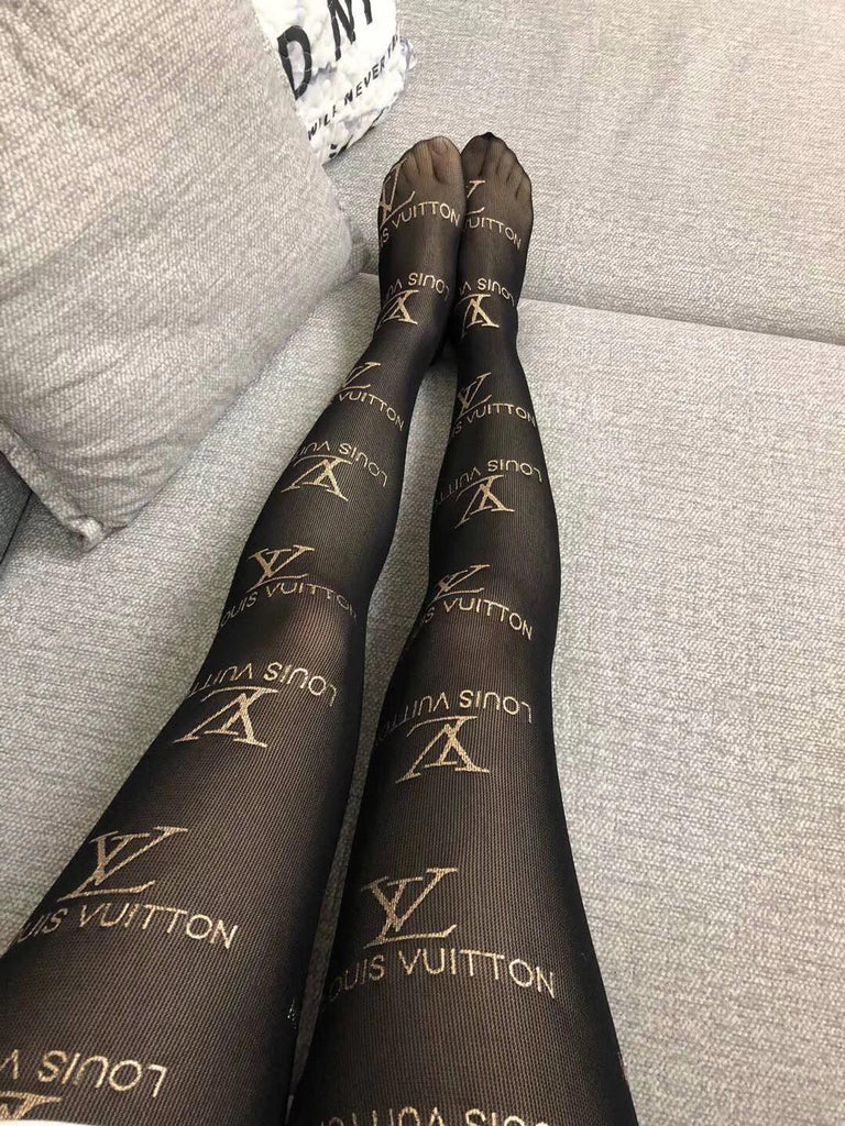 Chic LV designer luxury stockings tights