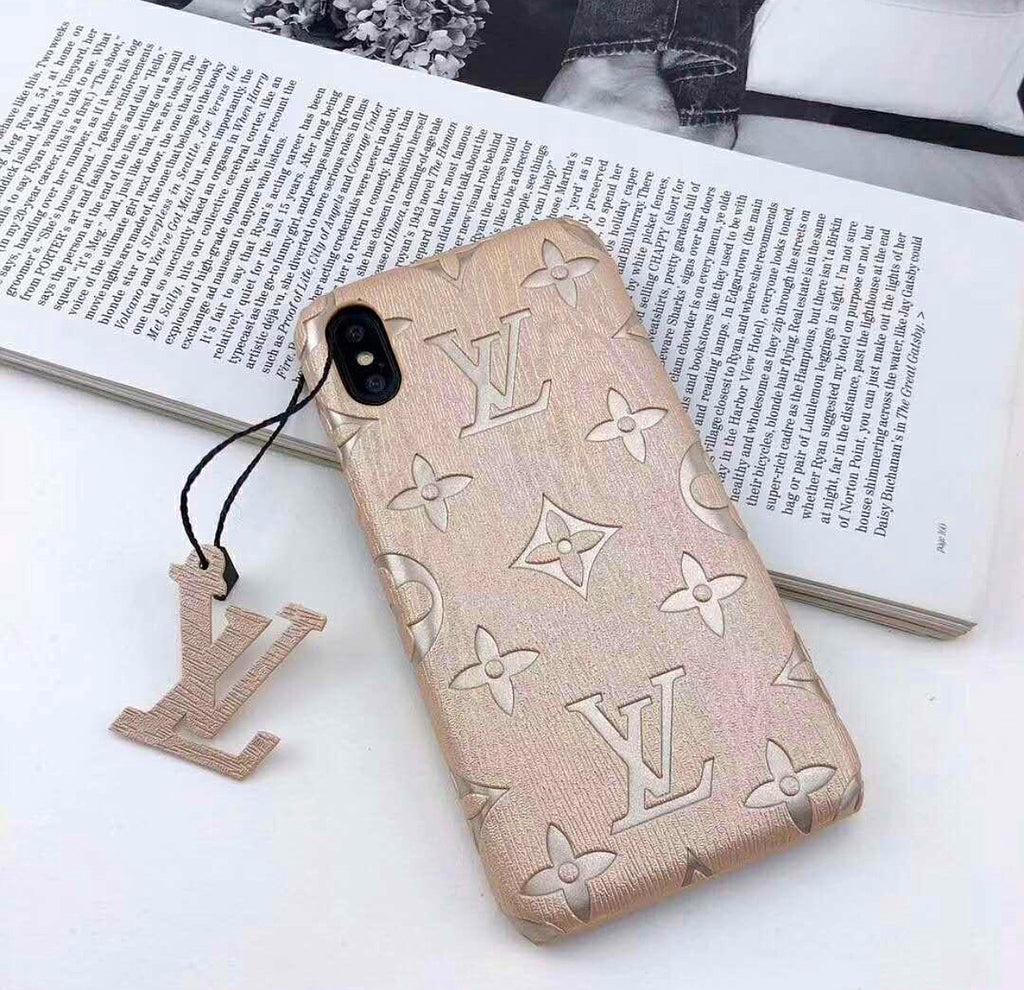 (2 colors) Luxury LV Phone Cases for iPhone