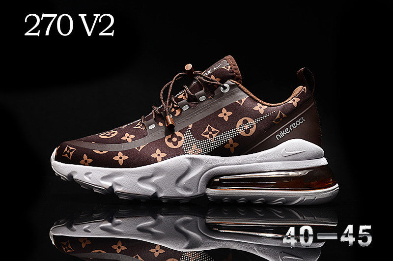 270 V2 React LV Custom Brown