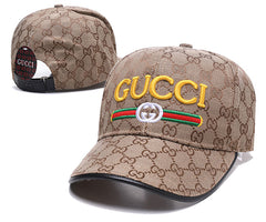 (8 colors)Gucci hats Unisex Women /Men Baseball Adjustable cap embroidery LOGO