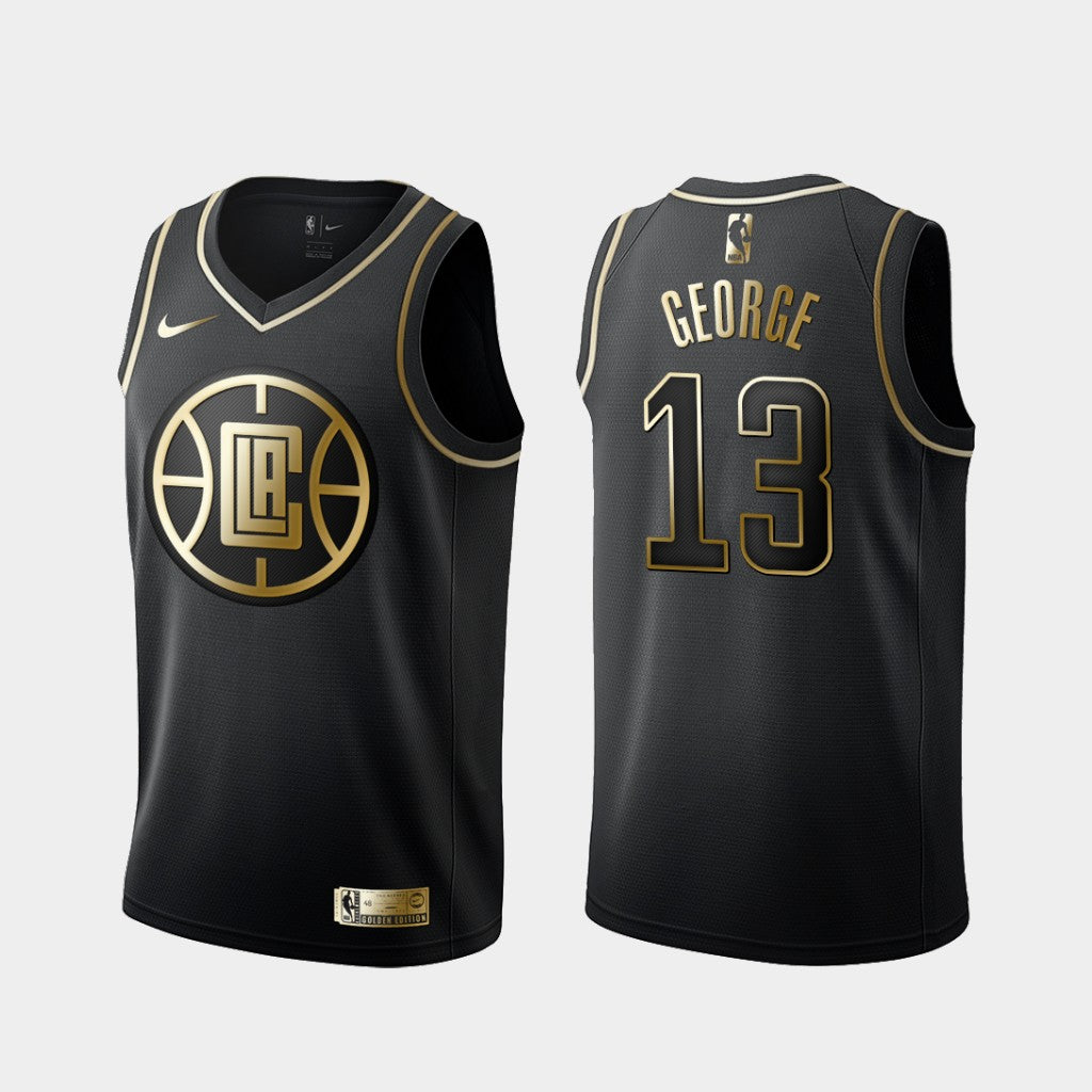 Paul George Clippers Jersey - Golden Edition