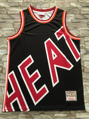 Miami Heat Mitchell & Ness big face Jersey