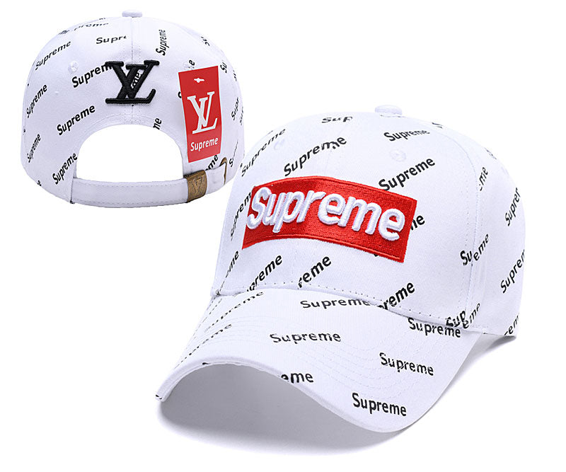Supreme title logo Hats and Caps