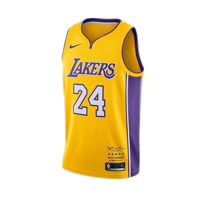 Kobe Bryant #24 LA Lakers Signature Jersey - supports Kobe's charities