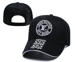 Beautiful LV Black adjustable ball cap/hat