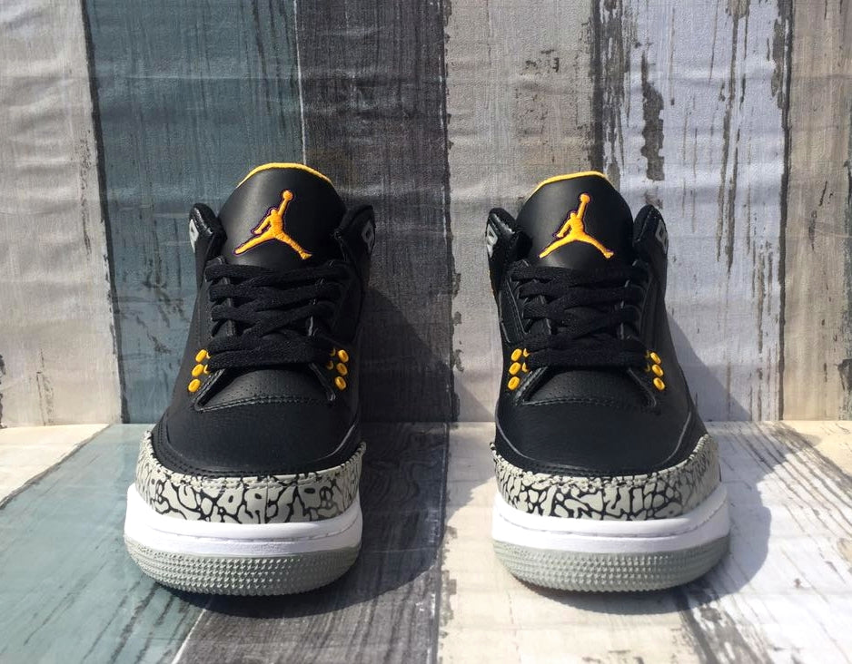 La Air Jordan 3 Kobe Custom with Hat