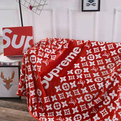 Beautiful ultra soft Supreme throw blanket