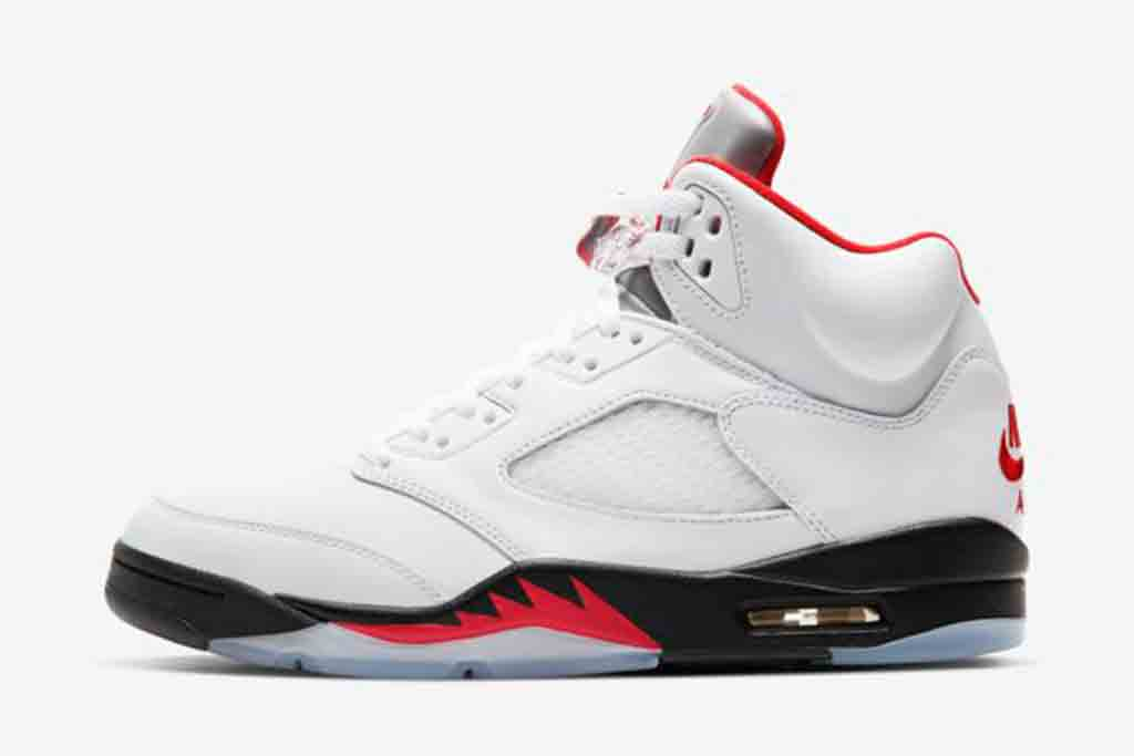 "Air Jordan 5 ""Fire Red"" 'The Last Dance'"