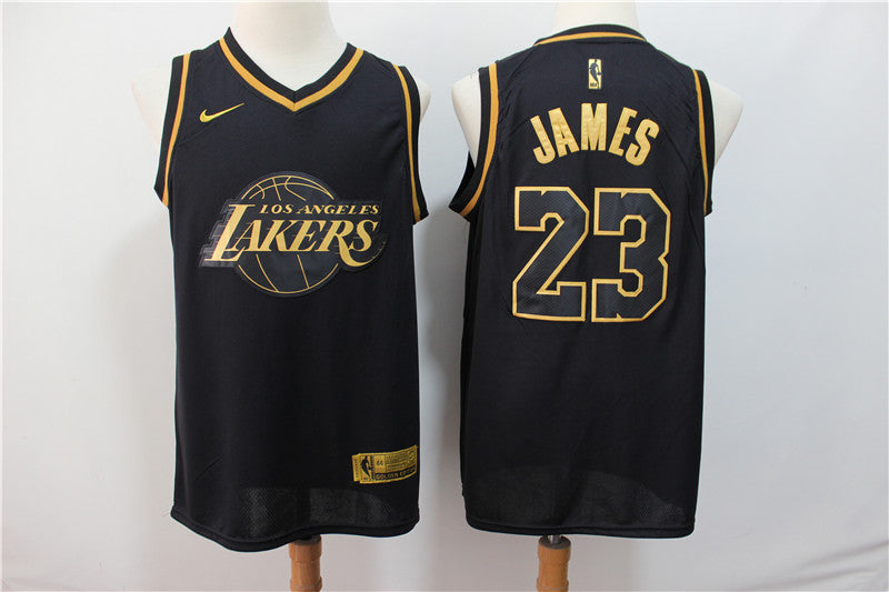 NBA LeBron James Lakers Jersey - Golden Edition