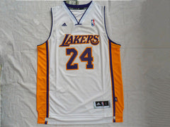 Kobe Bryant #24 LA Lakers white Jersey - supports Kobe's charities