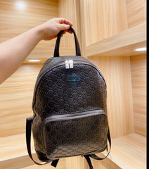 Beautiful GG backpack bag with FREE card holder Black November
