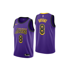 Kobe Bryant #8 LA Lakers Jersey - supports Kobe's charities