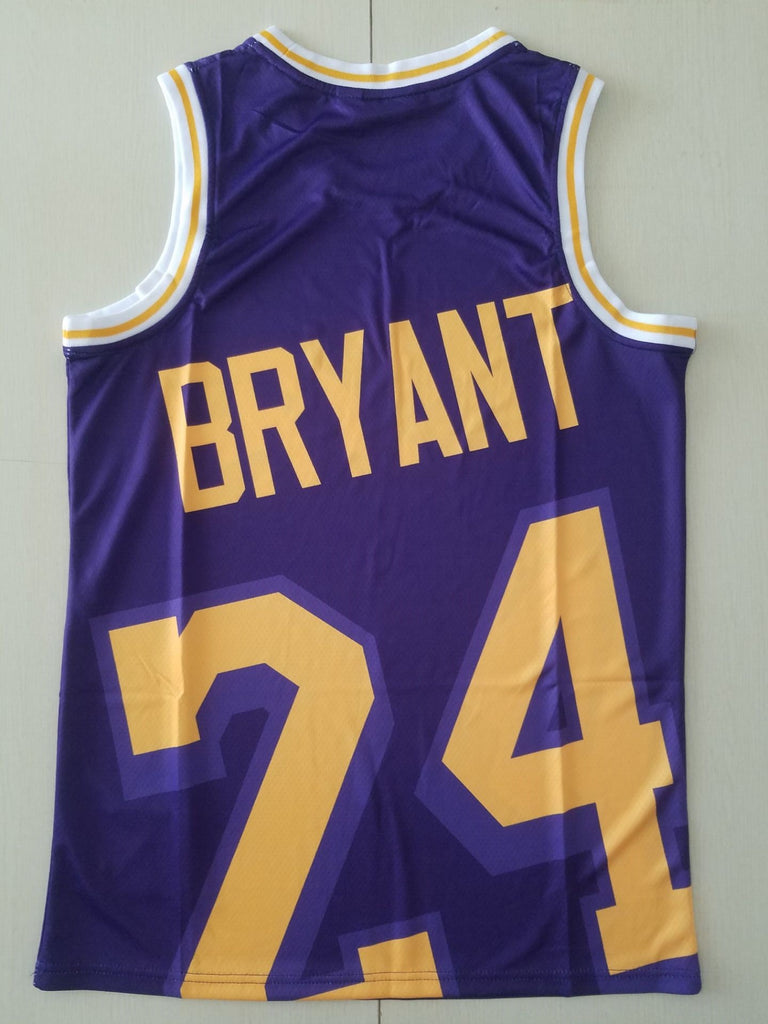 Lakers Mitchell & Ness big face Jersey