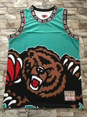 Memphis Grizzlies Mitchell & Ness big face Jersey