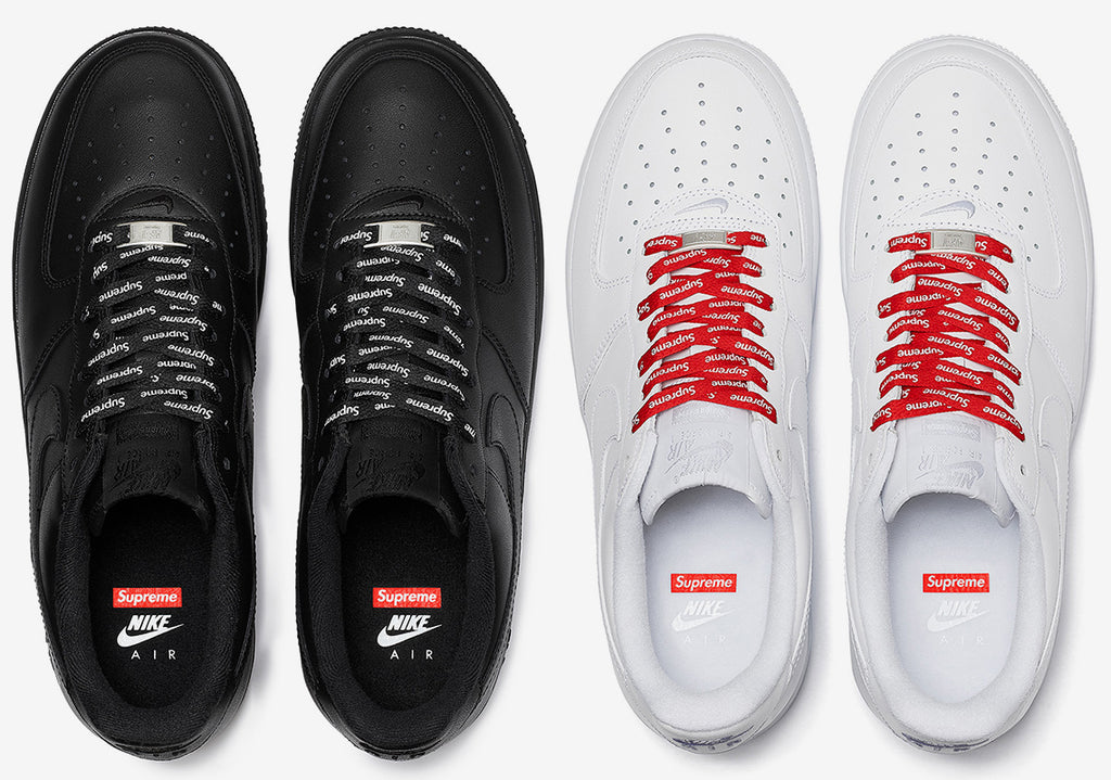 Supreme AIR FORCE 1 Men's White low