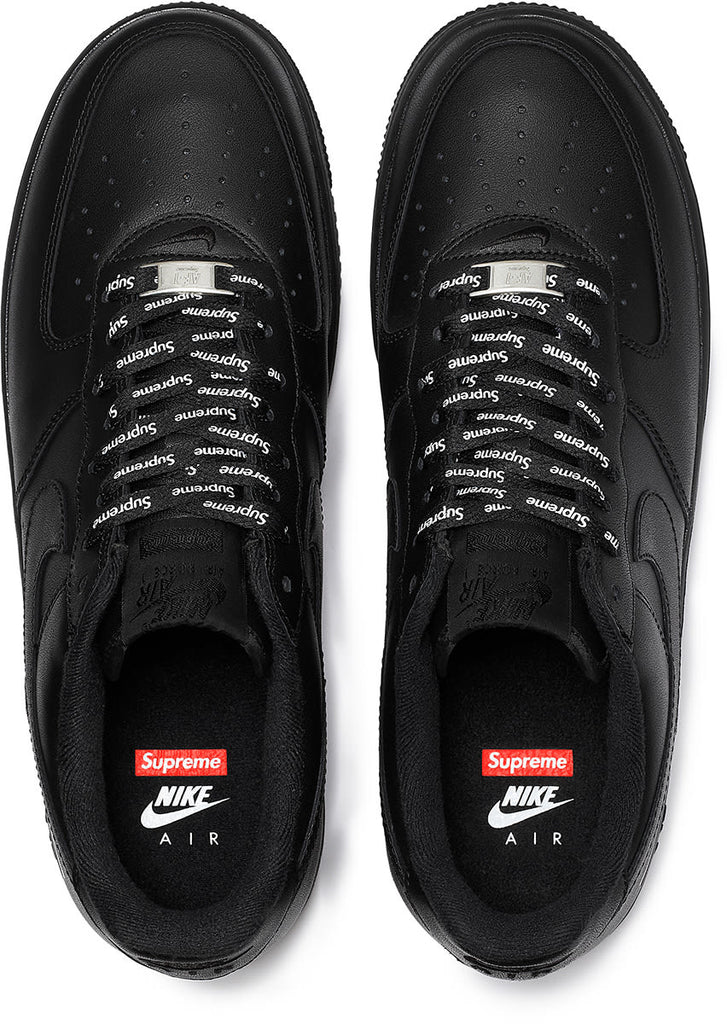 Supreme AIR FORCE 1 Men's Black low