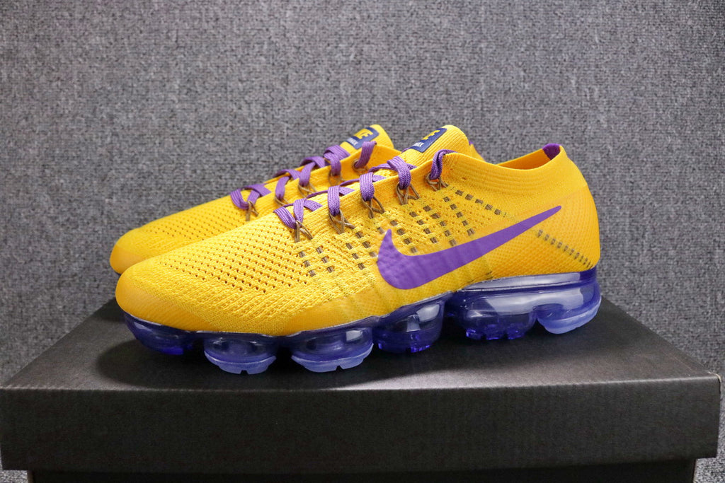 'Lakers' Air VaporMax Flyknit Men's #LakeShow (customized)