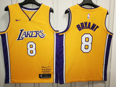 Kobe Bryant #8 LA Lakers Jersey Signature - supports Kobe's charities
