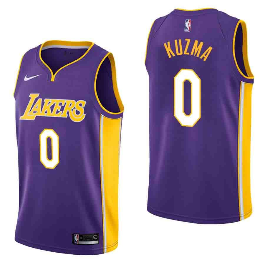 Kyle Kuzma Los Angeles Lakers Nike NBA Jerseys