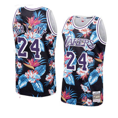 Kobe Bryant #24 LA Lakers floral Jersey - supports Kobe's charities