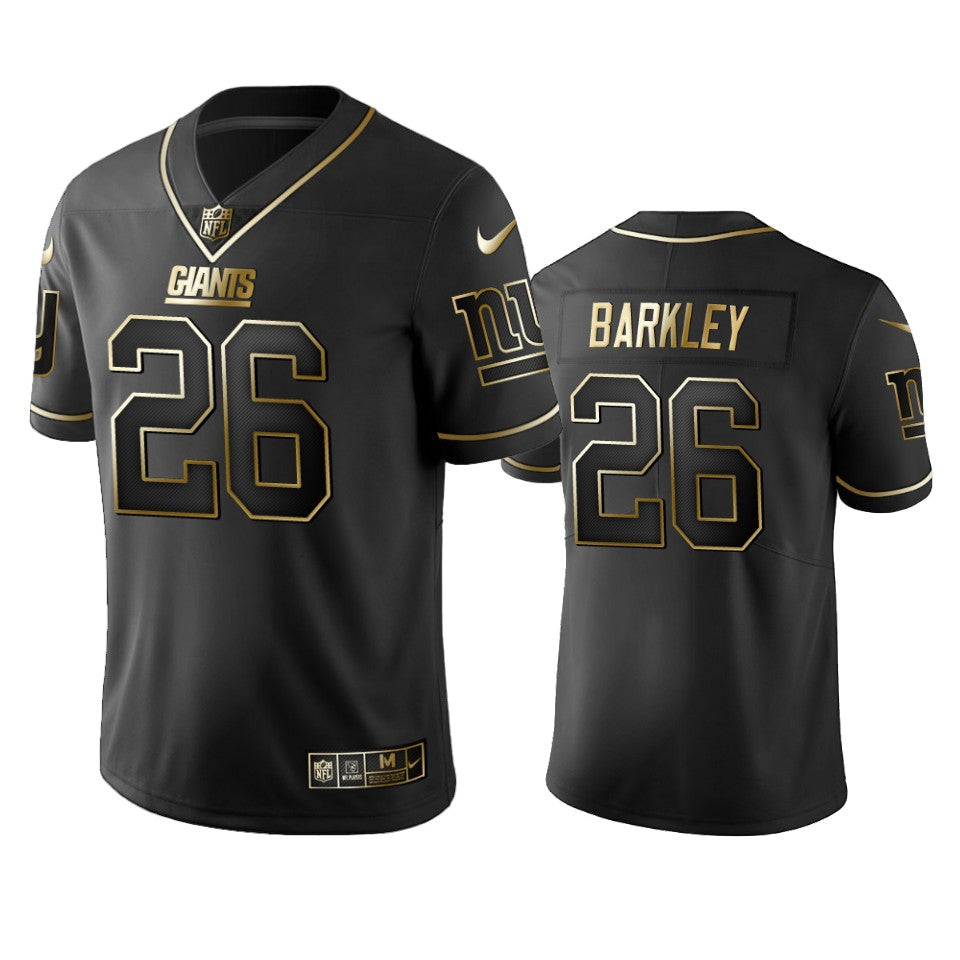 Saquon Barkley New York Giants NFL Golden Edition Jersey