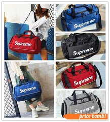 Affordable Supreme Print Luxury Duffel Gym Yoga Travel Bags