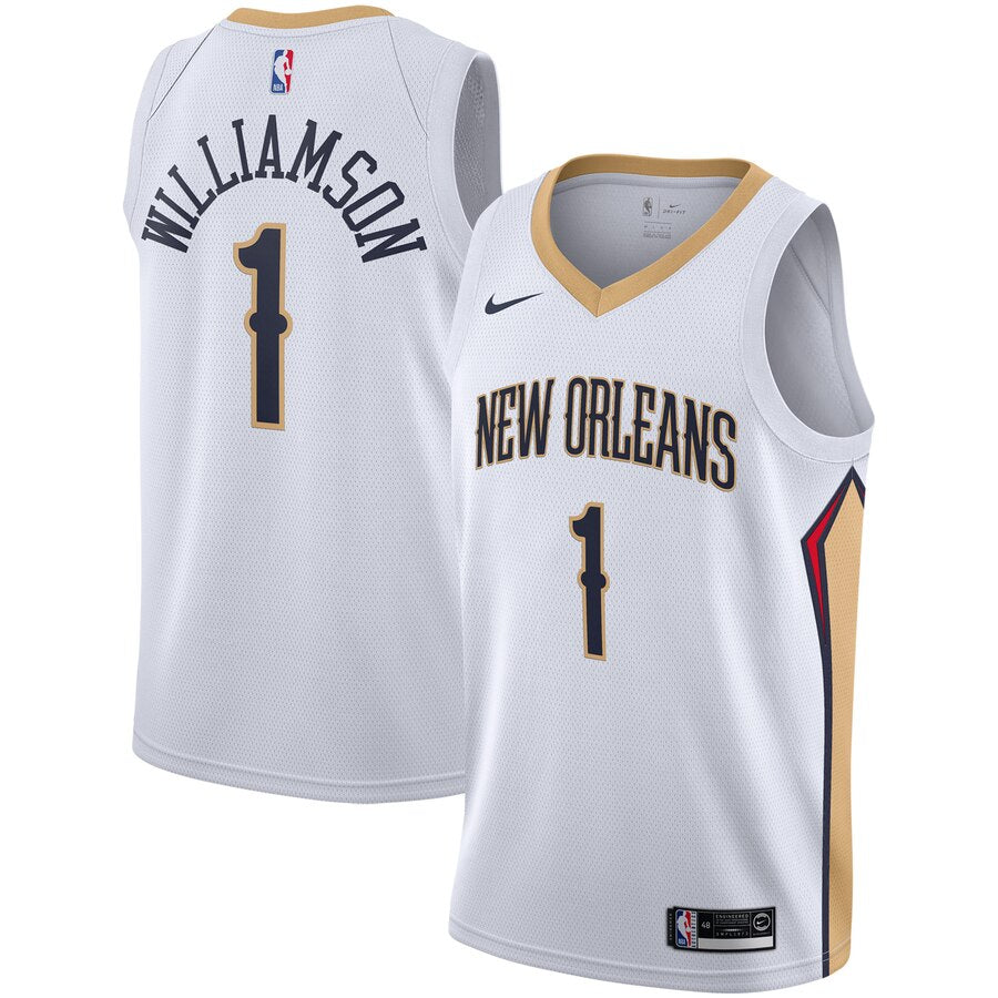 Zion Williamson New Orleans Pelicans NBA Jersey