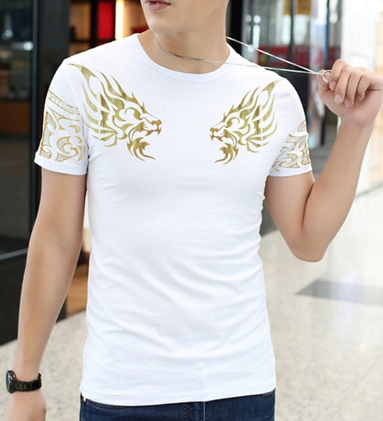 Men's short sleeved t-shirt is great for this years Spring fashion.