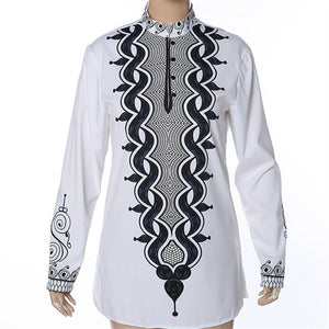 RICHE BAZIN African clothing African Men Dashiki Riche For Men Maxi Clothing Summer White Shirt African Print Style Plus size