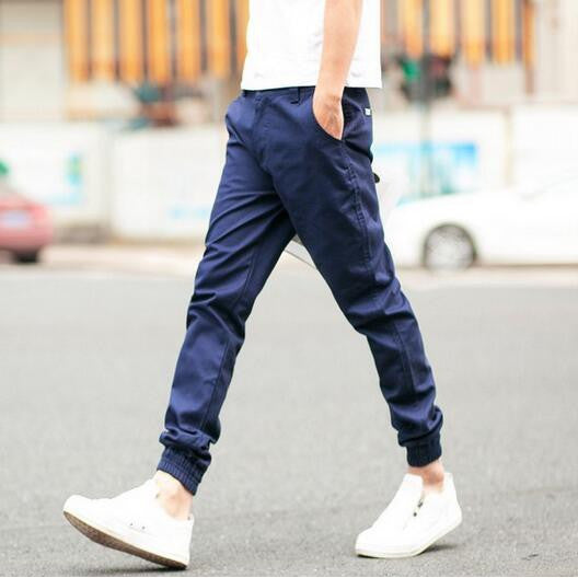 Slim men's trousers Men's Nine Points Casual Wear Pants Men's 9 pants