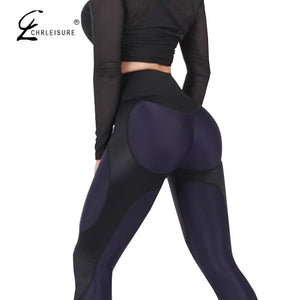 CHRLEISURE Women High Waist Leggings Women Fitness Leggings for Push Up Activewear Workout Legging Pants Streetwear S-XL