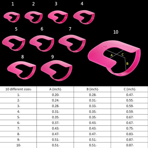 26PCS - Nail Polish Guard