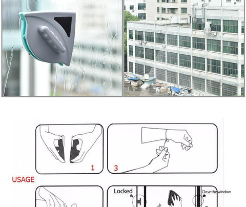 Amazing Magnetic Glass Cleaner