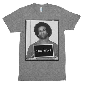 STAY WOKE, Huey P. Short Sleeve t-shirt - Spirit Central Shop