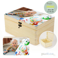 Herinneringendoos hout - Basic Mini (Pixibox)