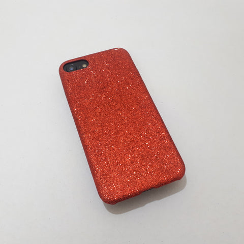 Red Leather iPhone Case