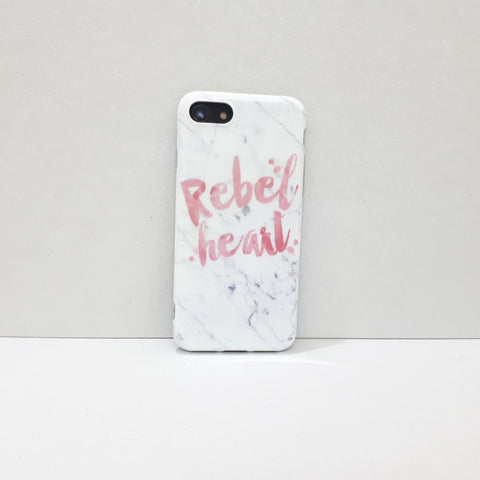 Quote iPhone Case - Rebel Heart