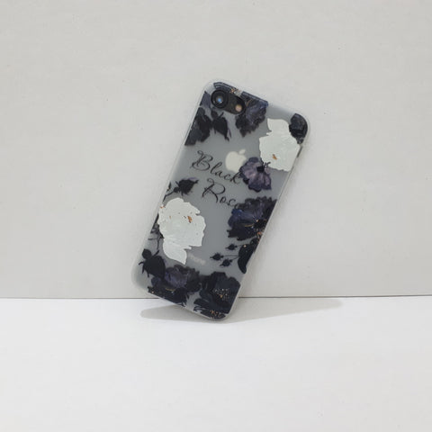 Black Rose iPhone Case