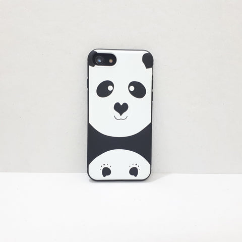 Happy Pandaa iPhone Case