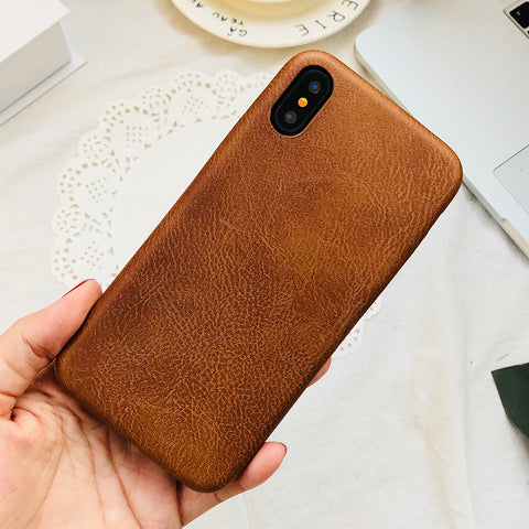 Stylish Ultra-thin Leather Fabric Phone Cases