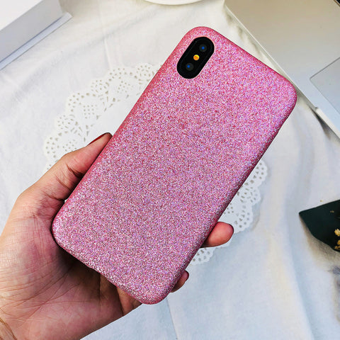 Stylish Ultra-thin Pink Leather iPhone Case