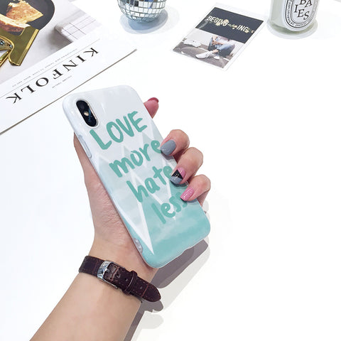 Quote iPhone Case - Love More