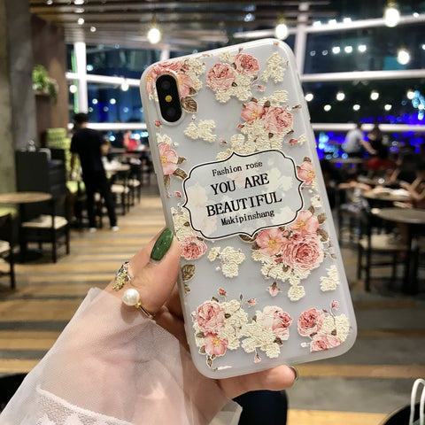 You are Beautiful Floral iPhone Case
