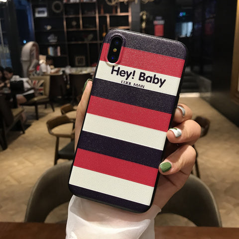 Hey ! Baby Red iPhone Case