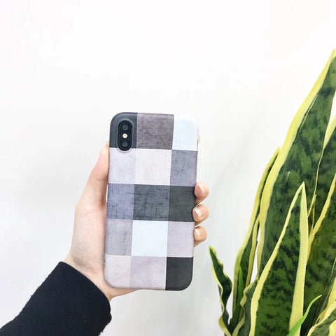 Geometric Tiles iPhone Case