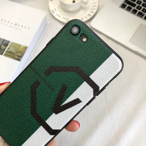 V Style iPhone Case