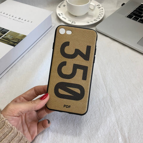 Number 350 iPhone Case
