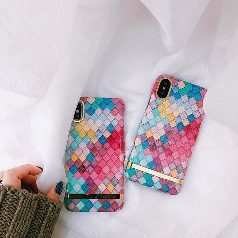 Multicolored Kite shaped Premium Edition Cover for iPhone 8 Plus