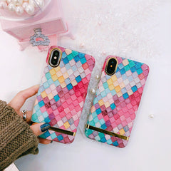 Multicolored Kite shaped Premium Edition Cover for iPhone X